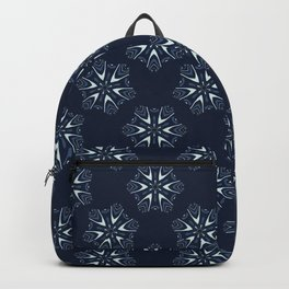 Glowing Stars Texture Drawn Starry Ornament Backpack