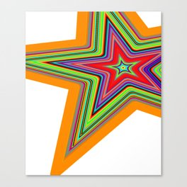 Star Child Canvas Print