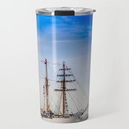 Sail Boston - Chilean Esmeralda. Travel Mug