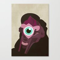 doom Canvas Prints featuring DOOM by Jamie Bryan
