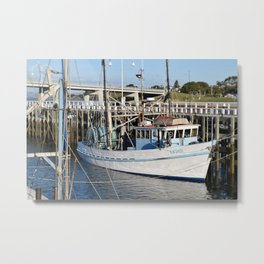 San Remo Boats Full Colour Metal Print