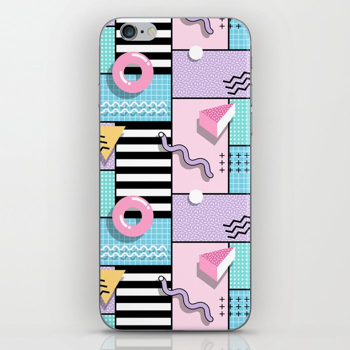 Memphis Party iPhone Skin