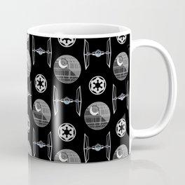 Empire ships pattern - dark side - movie - 80s Coffee Mug
