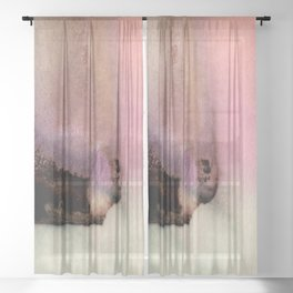 A Serene Life 3L - by Kathy Morton Stanion Sheer Curtain