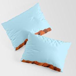 uluru polygon Pillow Sham
