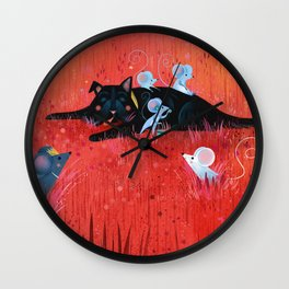 WonderfulWizardOz Wall Clock