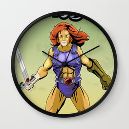 Lion O Thundercats Wall Clock