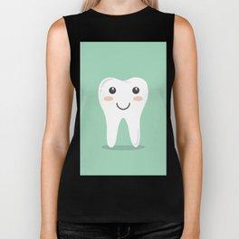 Cute Teeth Biker Tank