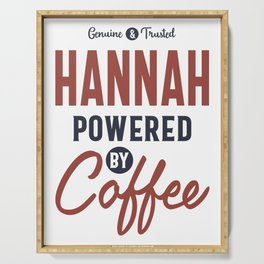 Hannah Powered by Coffee Serving Tray