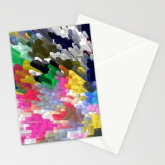 Colorful Skyscrapers Stationery Cards