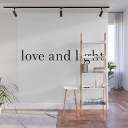 love and light Wall Mural