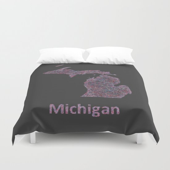 Michigan Duvet Cover