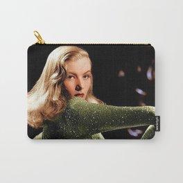 Classic Veronica Lake Portrait in Green - Jeanpaul Ferro Carry-All Pouch