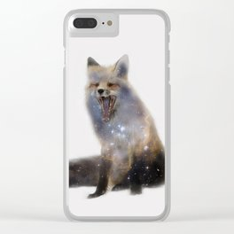 Say Whaat? Clear iPhone Case