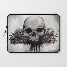 Skull + Roses Laptop Sleeve