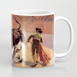 "Frederic Remington Western Art ""Bullfight in Mexico"" Coffee Mug"