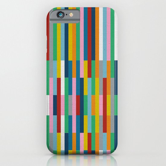 Bricks Rotate #3 iPhone & iPod Case