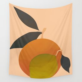An Orange and a Lemon Wall Tapestry