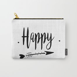 Happy Lettering-PM coll Carry-All Pouch