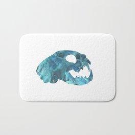 Cat Skull Art Bath Mat