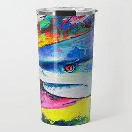 Shark Colors Travel Mug