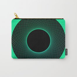 Apple Vortex Green Carry-All Pouch
