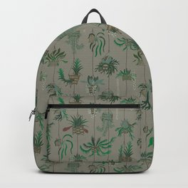Vanda Basket Plants Ancient Blooms Backpack