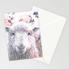 Animal ArtStudio 1819 Sheep Stationery Cards
