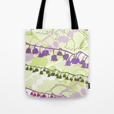 Layered Lily Tote Bag