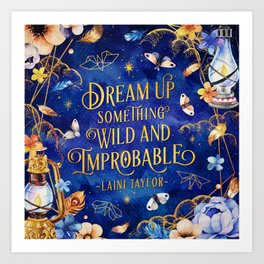 Dream up Art Print