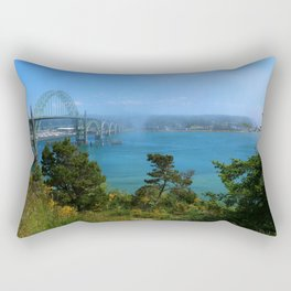 Bridge Over Calm Waters Rectangular Pillow