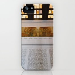 Inside the Lincoln Memorial | Washington D.C. iPhone Case