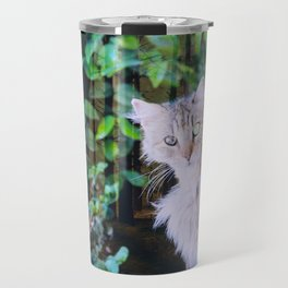 Cat to Rule the World with Travel Mug