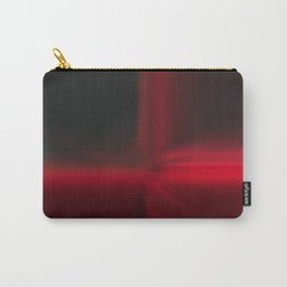 Red Square Abstract Design Carry-All Pouch