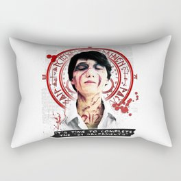 "Silent Hill - It's time to complete the ""21 Sacraments"" Rectangular Pillow"