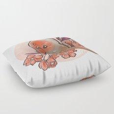Spring Bird Floor Pillow