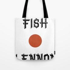 Shaved fish Tote Bag