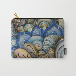 Majestic Coral Carry-All Pouch