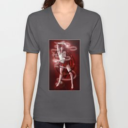 Sailor Senshi Grell Unisex V-Neck