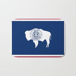 Wyoming State Flag Bath Mat