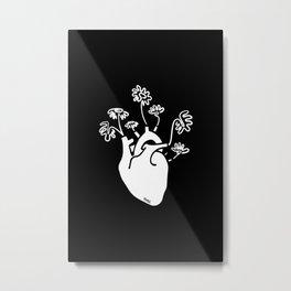 Bloomheart Metal Print
