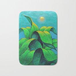 Desert plant Bath Mat