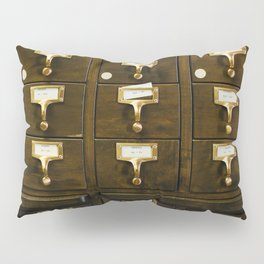 The Bank Drawers (Color) Pillow Sham