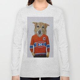 dog in sportwear Long Sleeve T-shirt