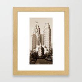 Toronto Flatiron Building Framed Art Print