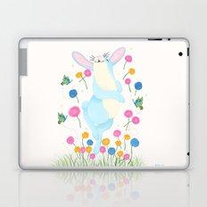 Bouncing Baby Blue Bunny Laptop & iPad Skin