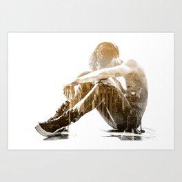 Desertion Art Print
