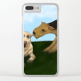 BFF Clear iPhone Case