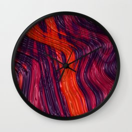 Be My Lava Wall Clock