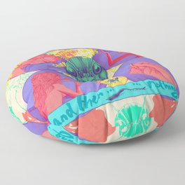 And Then Nothing. Floor Pillow